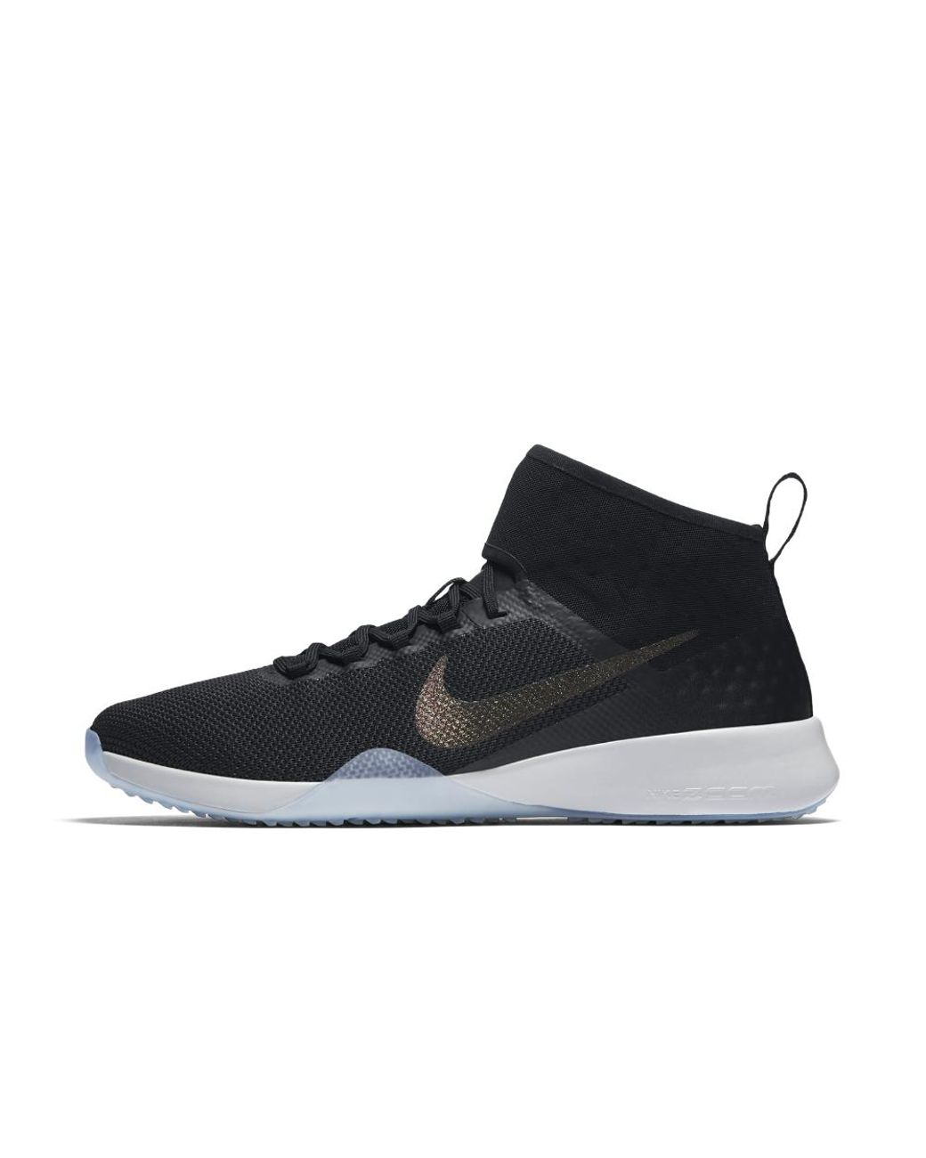 65100913c288a Lyst - Nike Air Zoom Strong 2 Metallic Women s Training Shoe in Black - Save  40%
