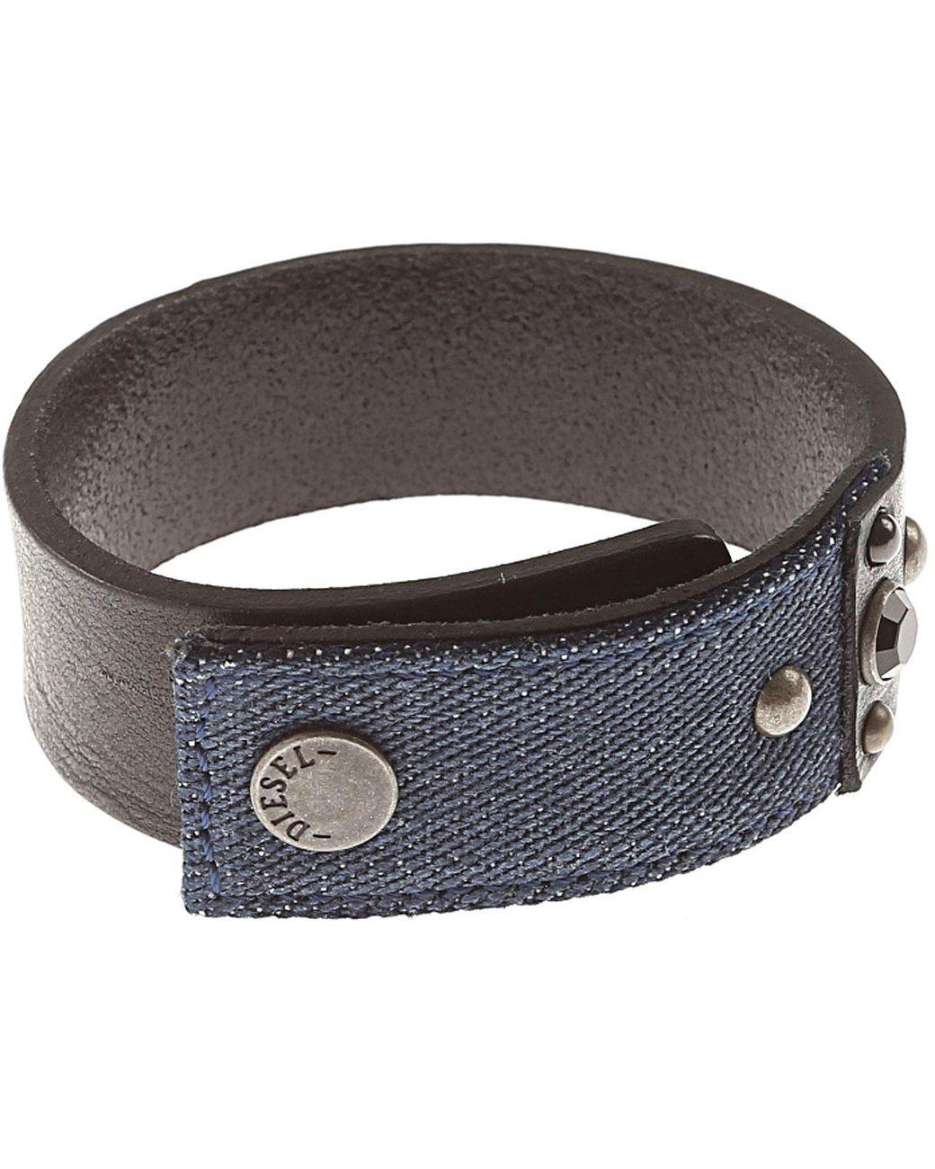 Outlet zu verkaufen Weg sparen billigsten Verkauf Armband für Herren Günstig im Outlet Sale in schwarz