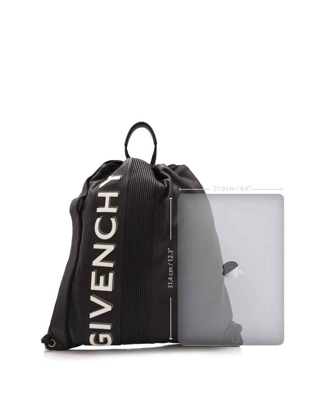 3592d18f82d379 Givenchy Mc3 Drawstring Backpack in Black for Men - Save 23% - Lyst