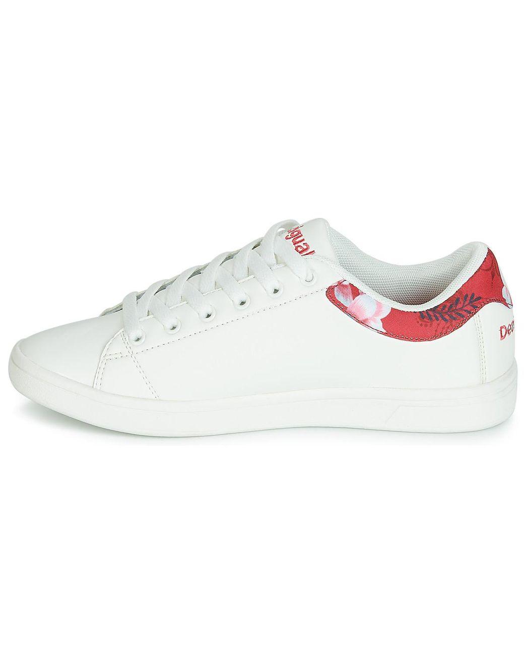 Women's ShoestrainersIn White Hindi Desigual Dancer Tennis T3KuJc1lF