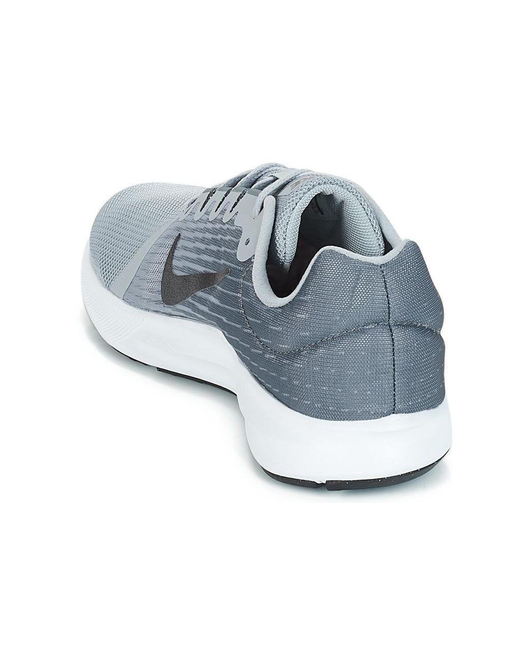 8d3e92705cc5a Nike Downshifter 8 Men s Running Trainers In Grey in Gray for Men - Save 6%  - Lyst