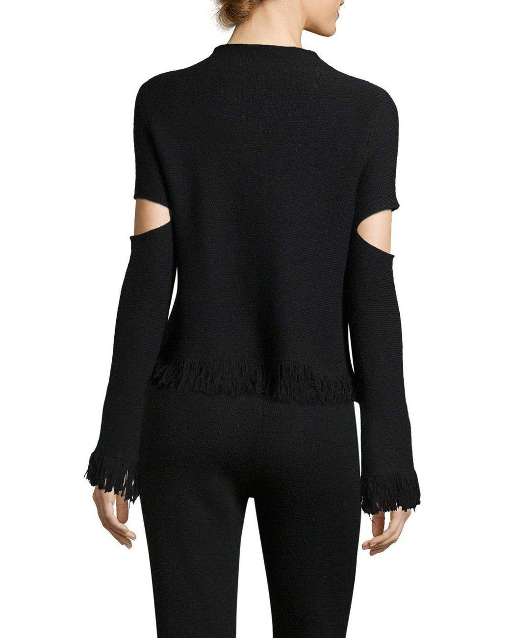 8c139c6ce911 Lyst - Zoe Jordan Laplace High-neck Sweater in Black - Save 61%