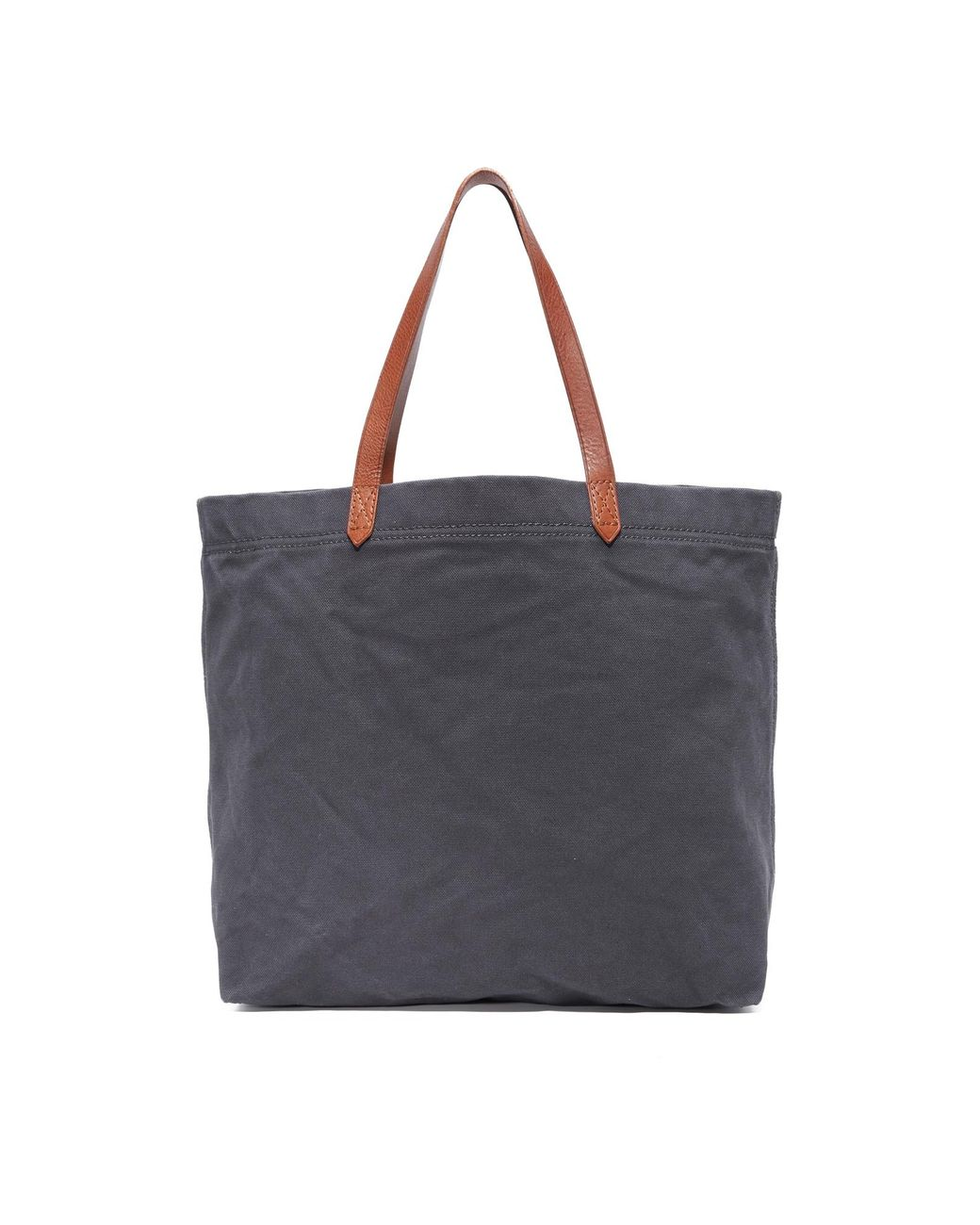 e367b3b8f Madewell Canvas Transport Tote in Black - Save 2% - Lyst