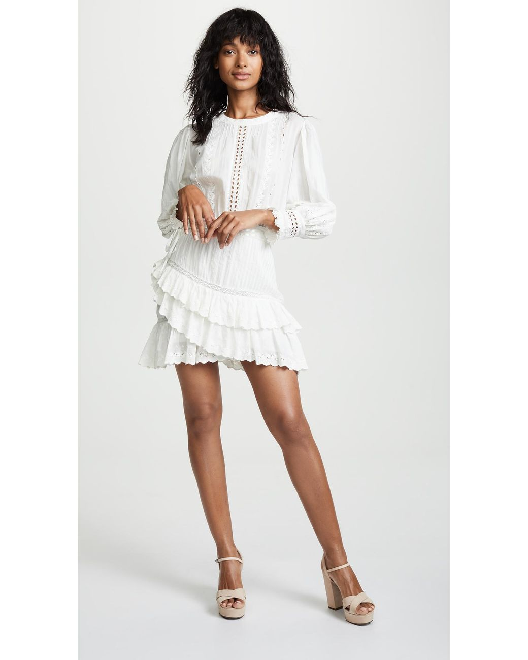 bafb7646699b3 LoveShackFancy Lorelei Dress in White - Lyst