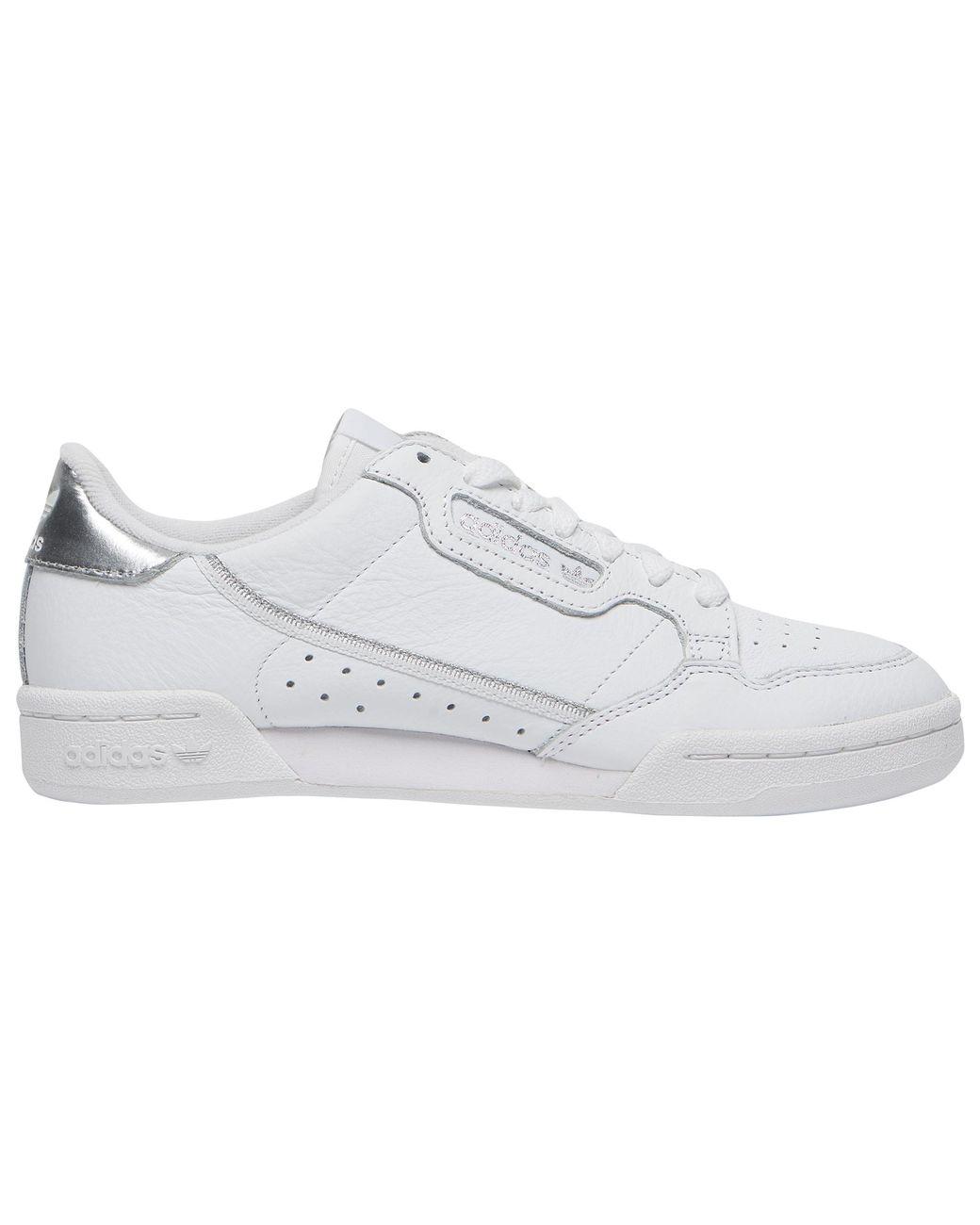 7c490d991e Lyst - adidas Originals Continental 80 in White