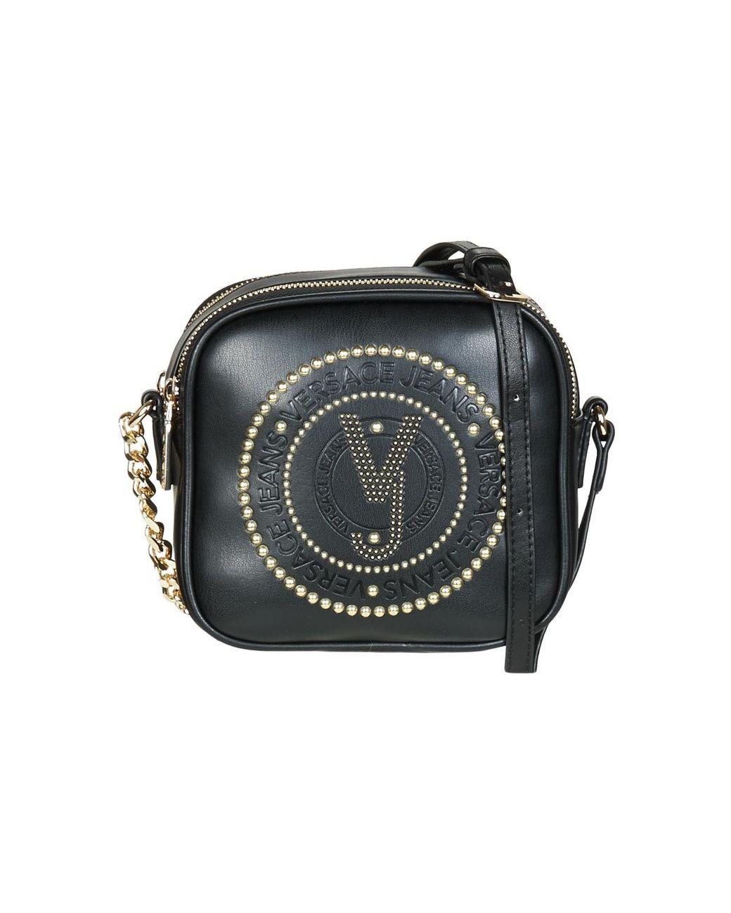 Femmes Bandouliere Jeans Noir Coloris Sac En Amacula Versace W29DHIE