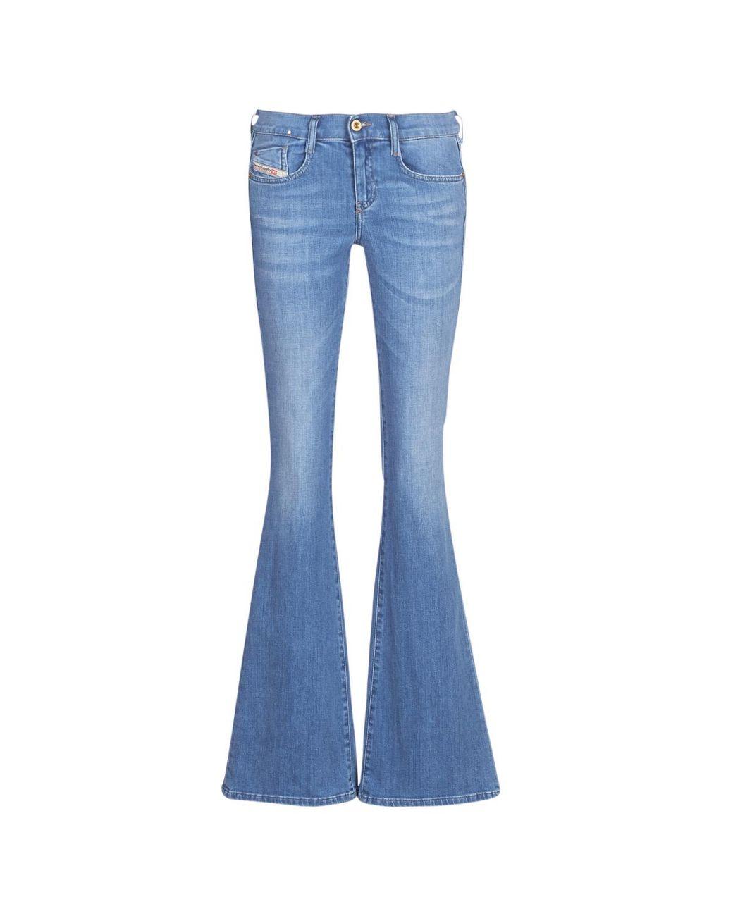 b74626e7 DIESEL Ebbey Women's Bootcut Jeans In Blue in Blue - Lyst
