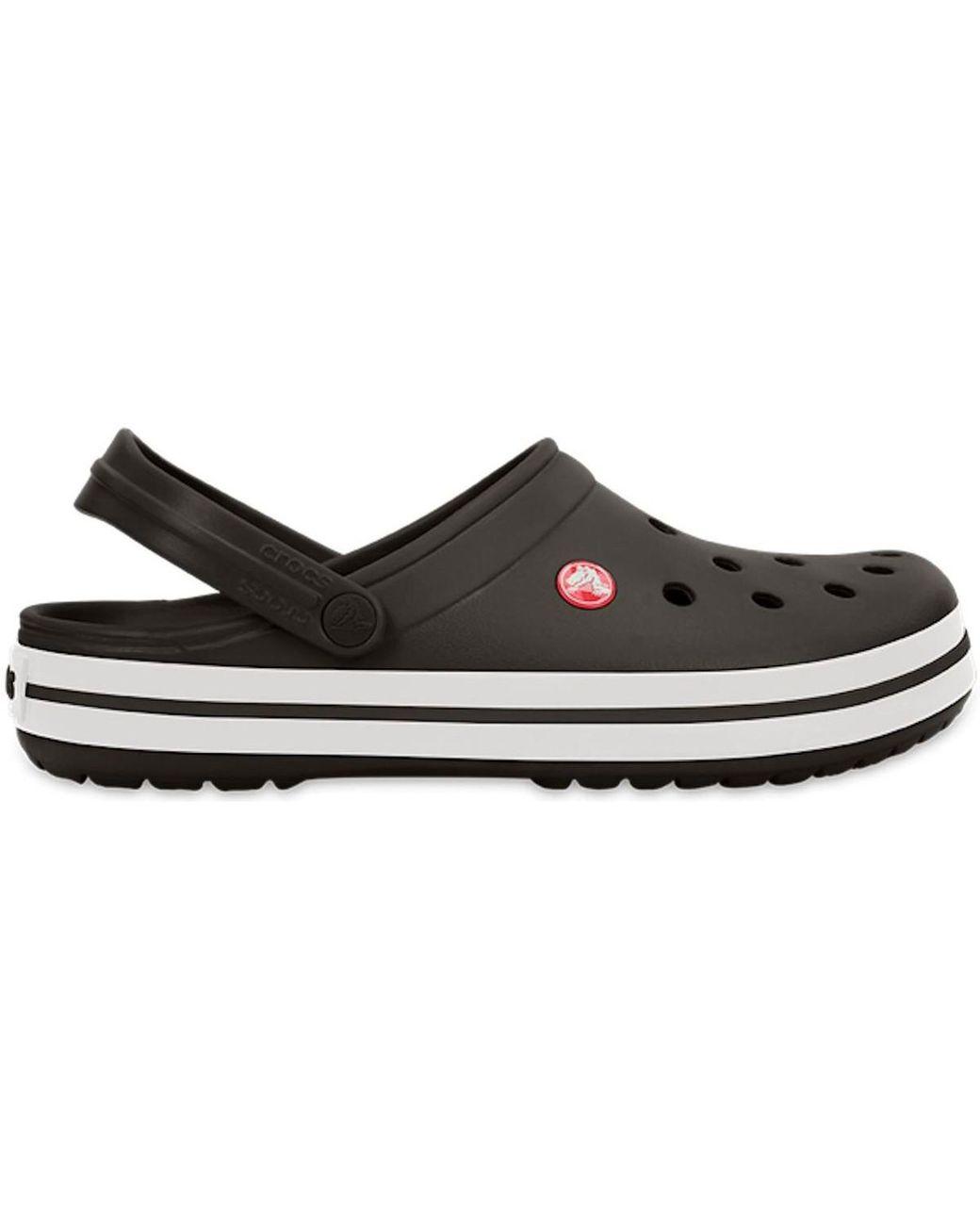 0f725ea910bb Crocs™ Crocband Clogs Shoes Sandals In Black 11016 001 Men s Clogs (shoes)  In Black in Black for Men - Lyst