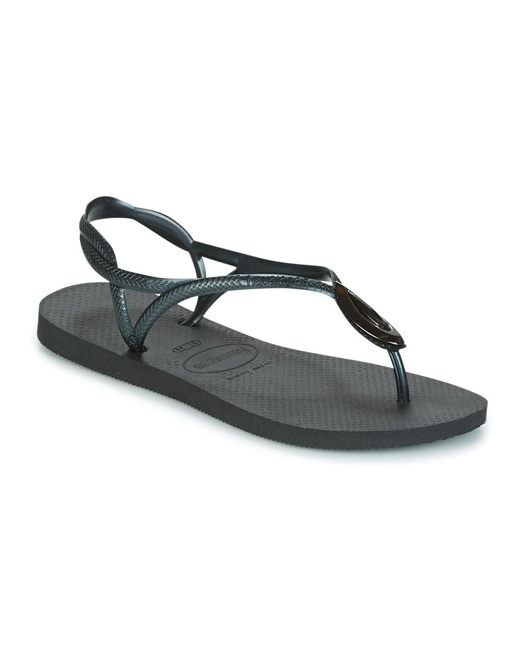 16ecd6e3d35a Havaianas Luna Special Women s Flip Flops   Sandals (shoes) In Black ...