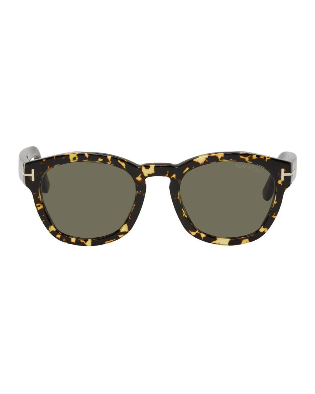 04b0f303cc Tom Ford Tortoiseshell Bryan Sunglasses for Men - Lyst