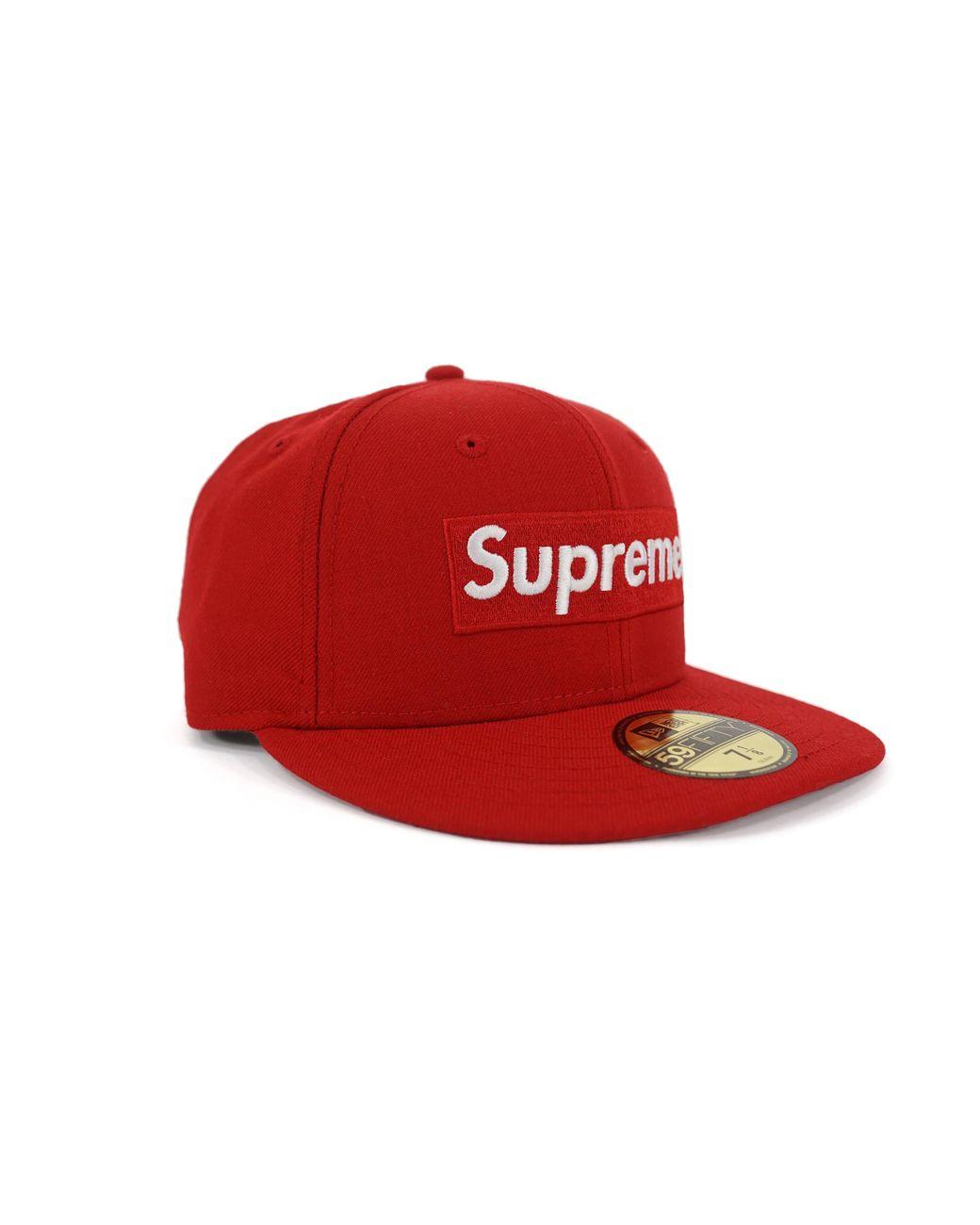 96b5dfa3 Supreme Playboy Box Logo New Era Cap Red in Red for Men - Lyst