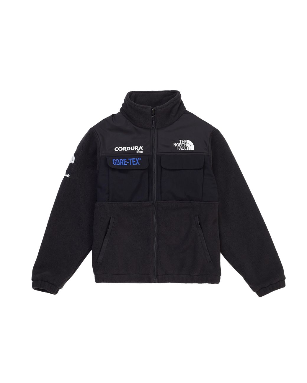 3f1873ca Supreme The North Face Expedition Fleece (fw18) Jacket Black in Black for  Men - Lyst