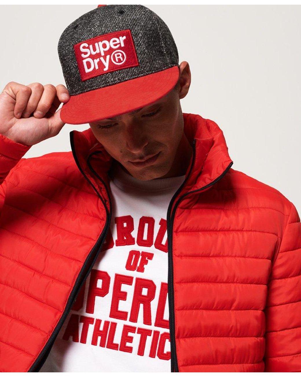 Superdry Gorra B Boy in Red for Men Lyst