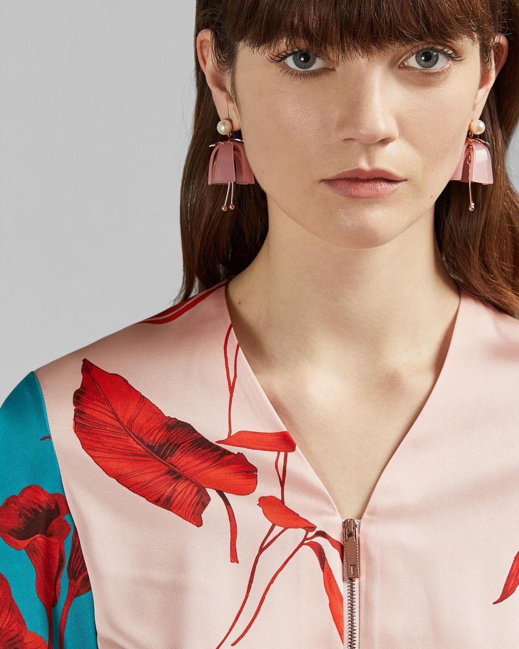 6162101ed Ted Baker. Women s Fantasia Knitted Bomber Jacket