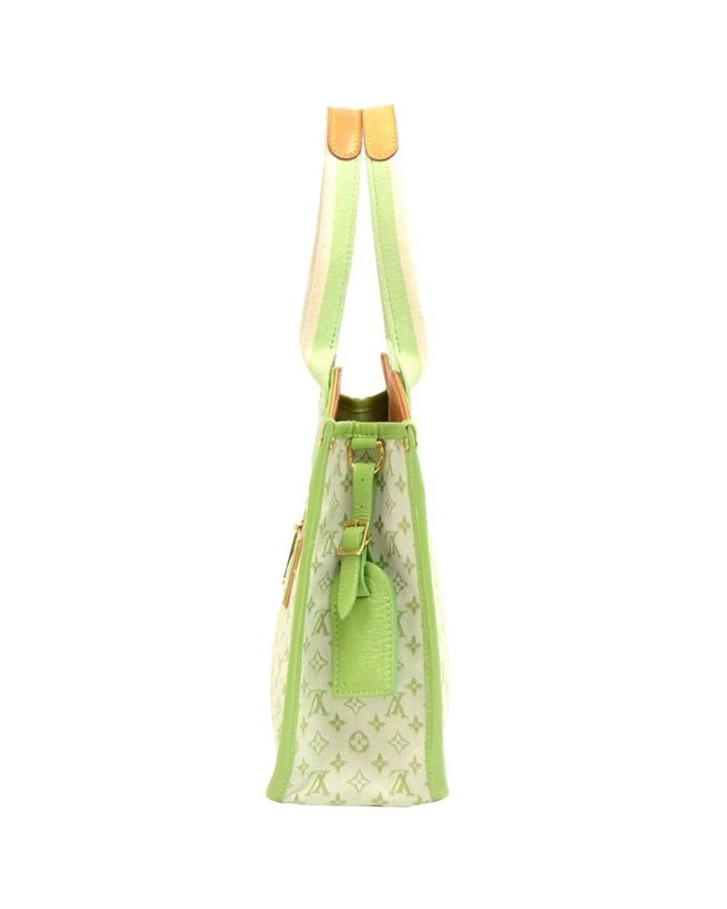 d0afc2bd0 Louis Vuitton Green Monogram Mini Lin Sac Kathleen Bag in Green - Lyst