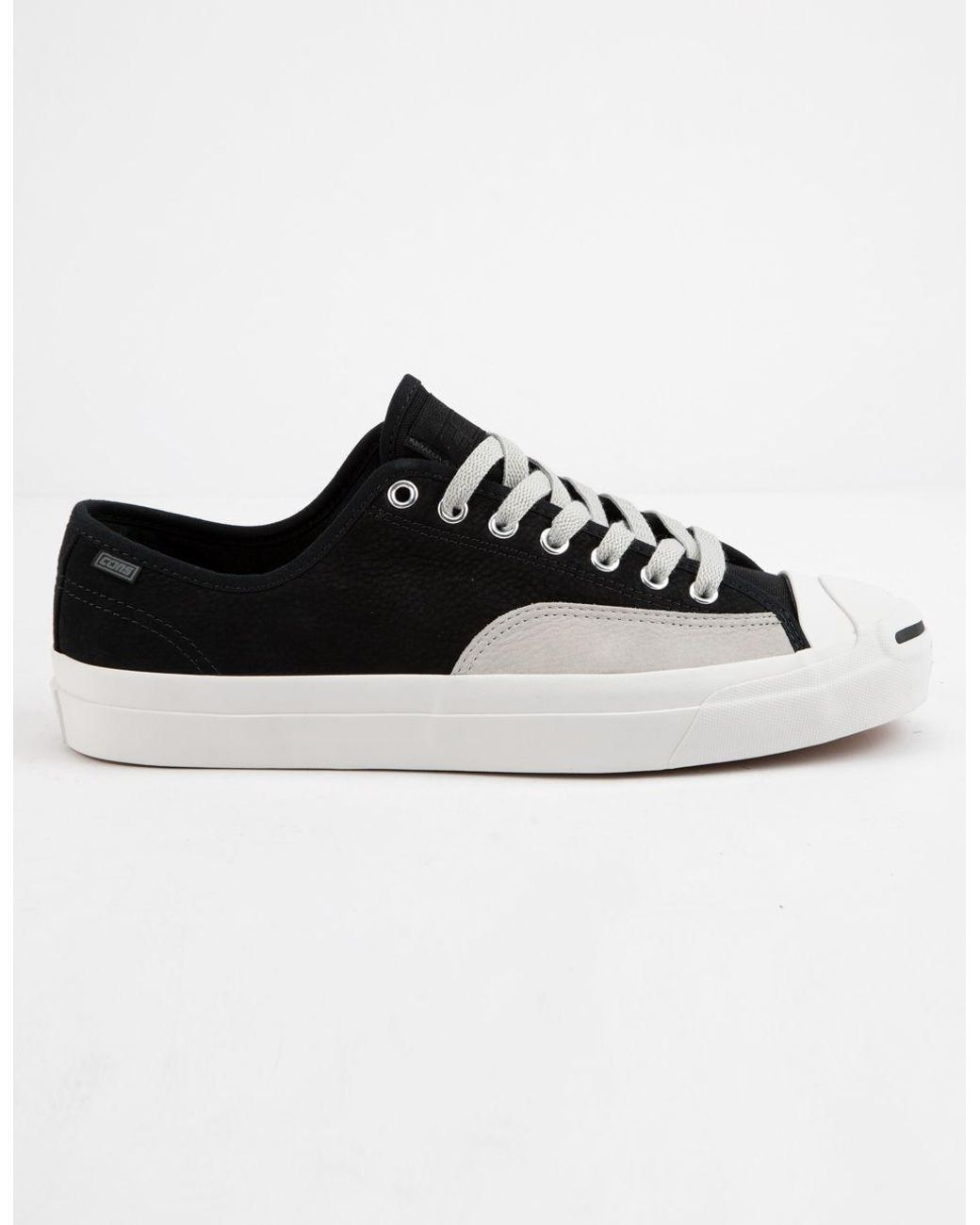2c365998d9c1 Lyst - Converse Jack Purcell Pro Leather Low Top Shoes in Black