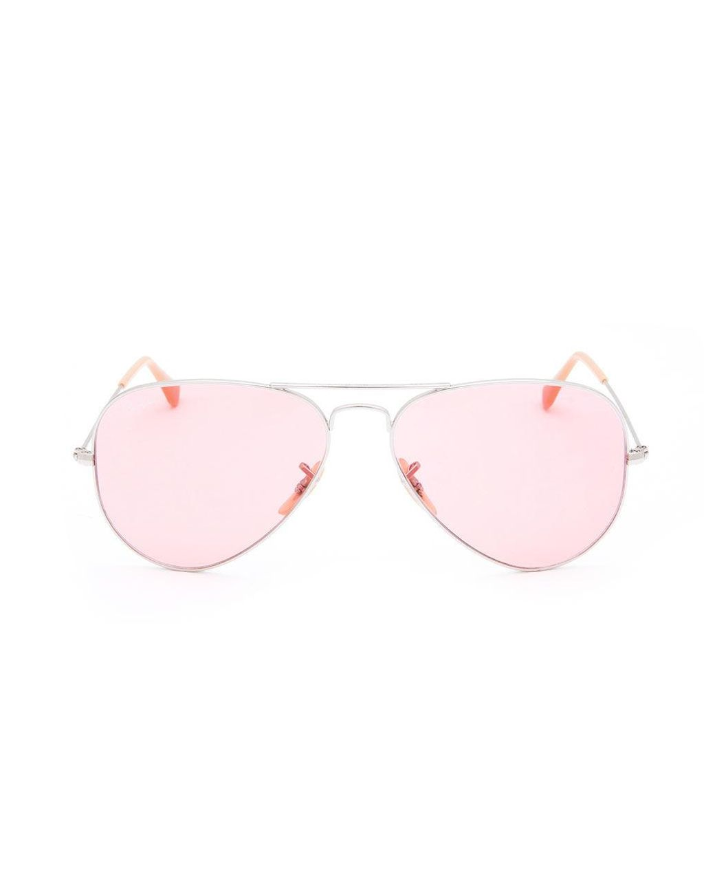 df9f4bdc57f19 Ray-Ban Aviator Evolve Silver   Pink Photocromic Sunglasses in Pink for Men  - Lyst