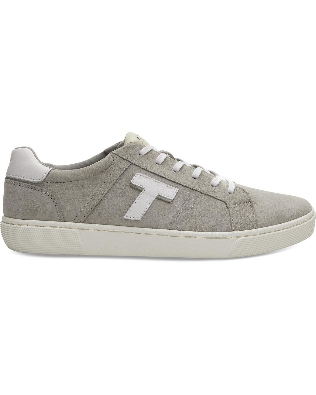 83d6c4d3bc7 TOMS. Gray Leandro (drizzle Grey Heritage Canvas) Men s Lace Up Casual Shoes