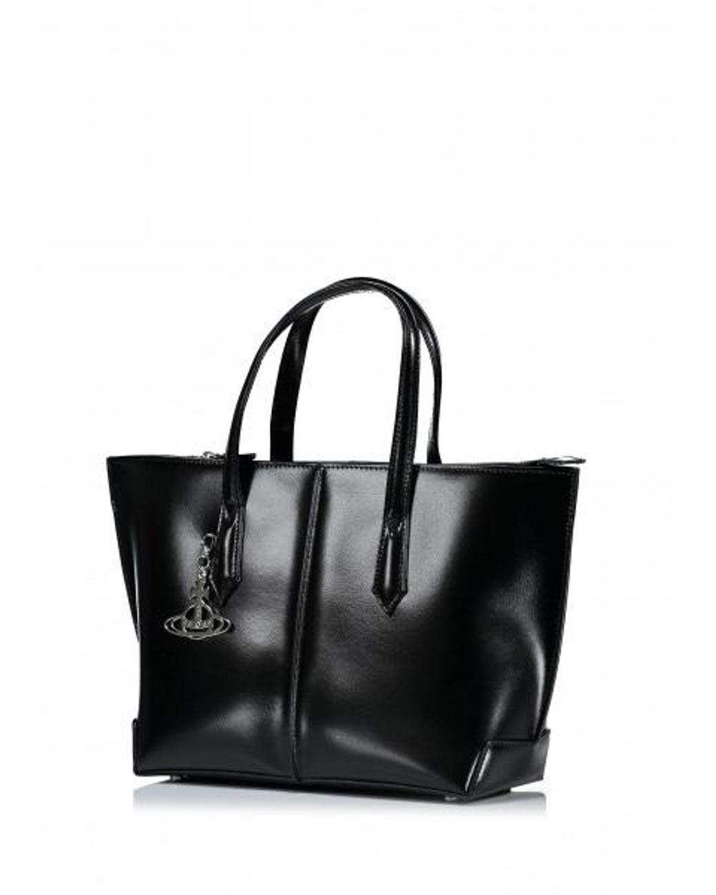 b01acc2ecd Vivienne Westwood Sarah Large Shopper Bag in Black - Save 10% - Lyst