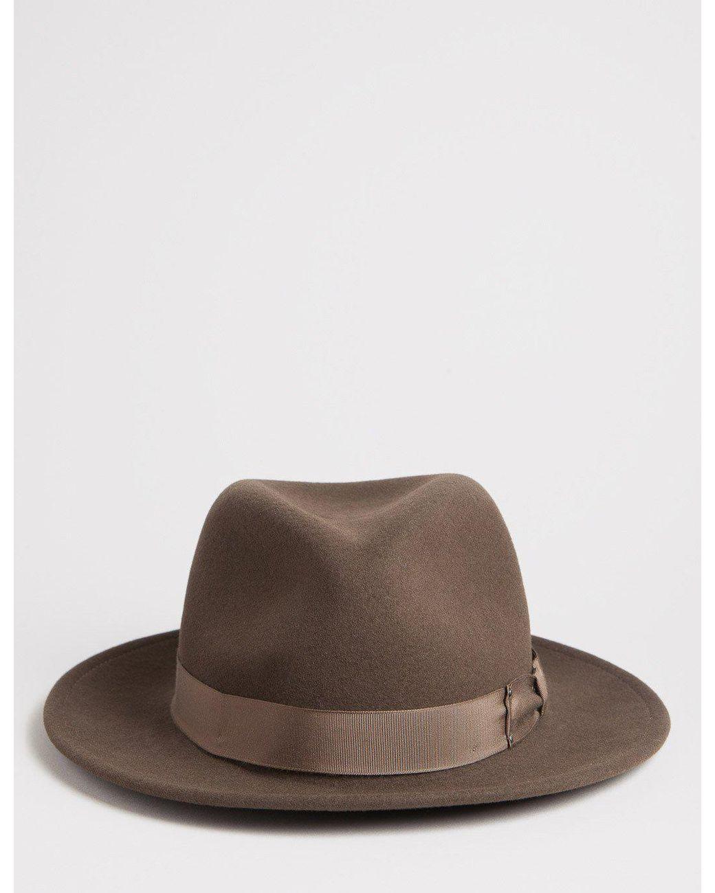 492de9425da913 Bailey of Hollywood Bailey Curtis Widebrim Fedora Hat in Brown for Men -  Lyst