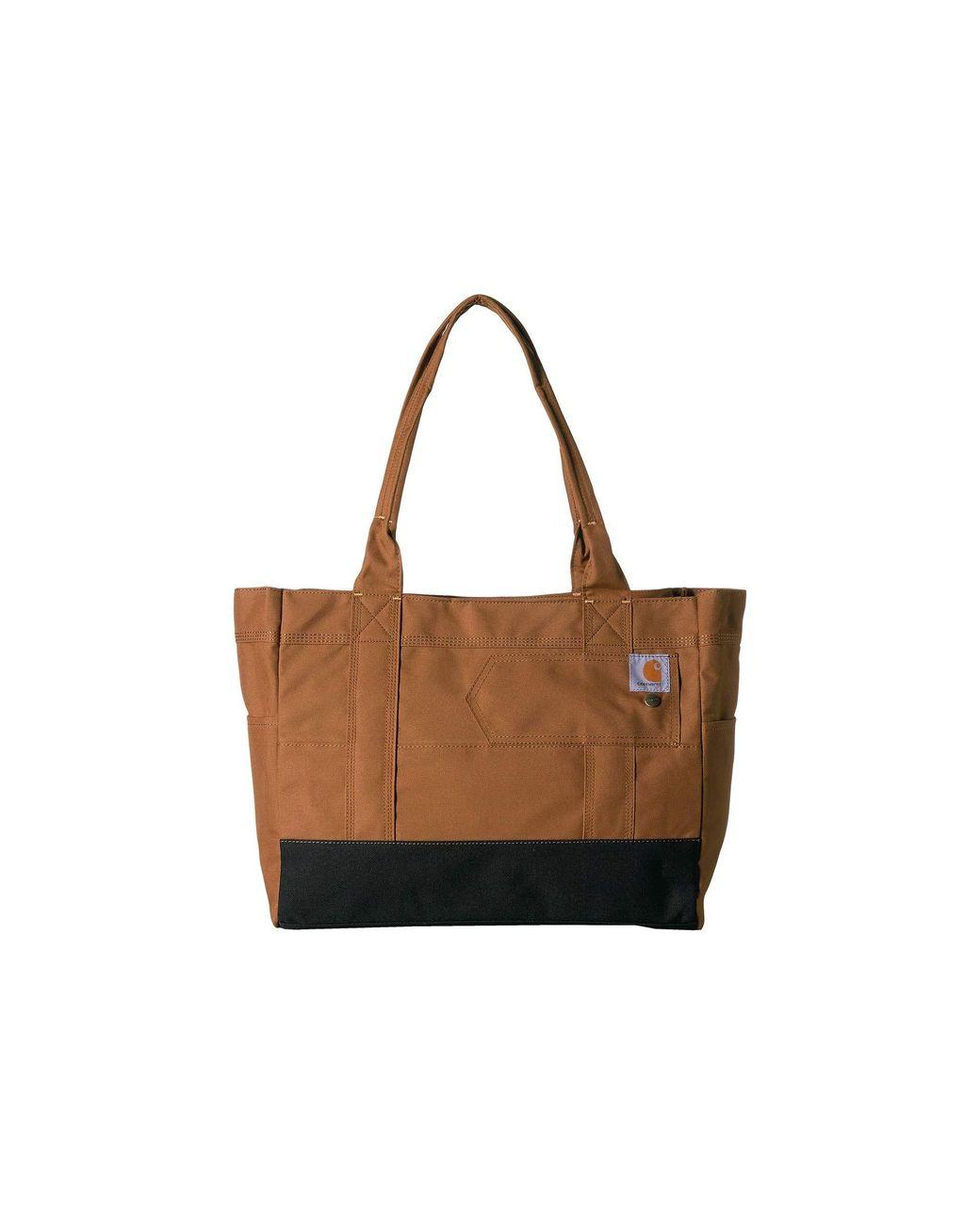 61edf23c080d Lyst - Carhartt East/west Tote (black) Handbags in Brown