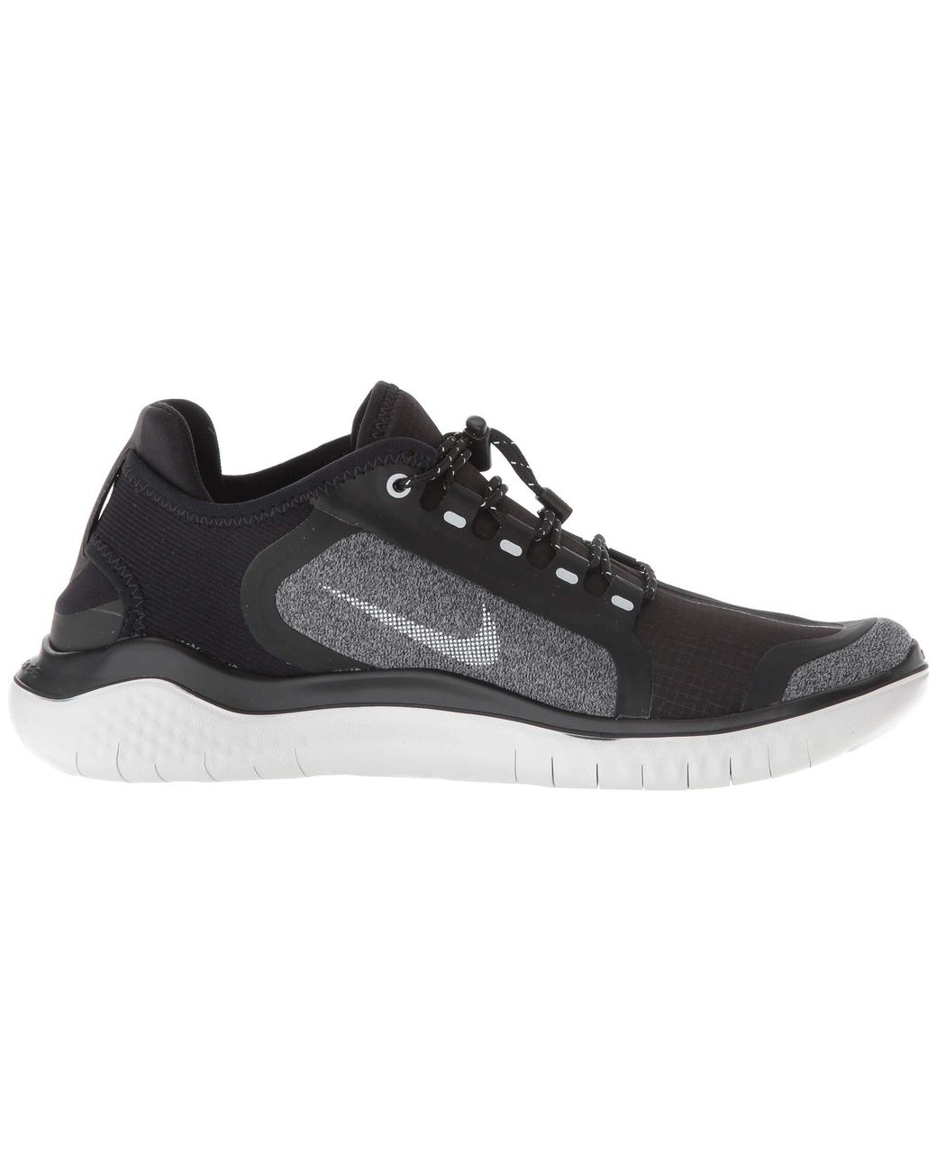 6a1d10e0f1281 Lyst - Nike Free Rn 2018 Shield (black metallic Silver cool Grey) Women s Running  Shoes in Metallic - Save 9%