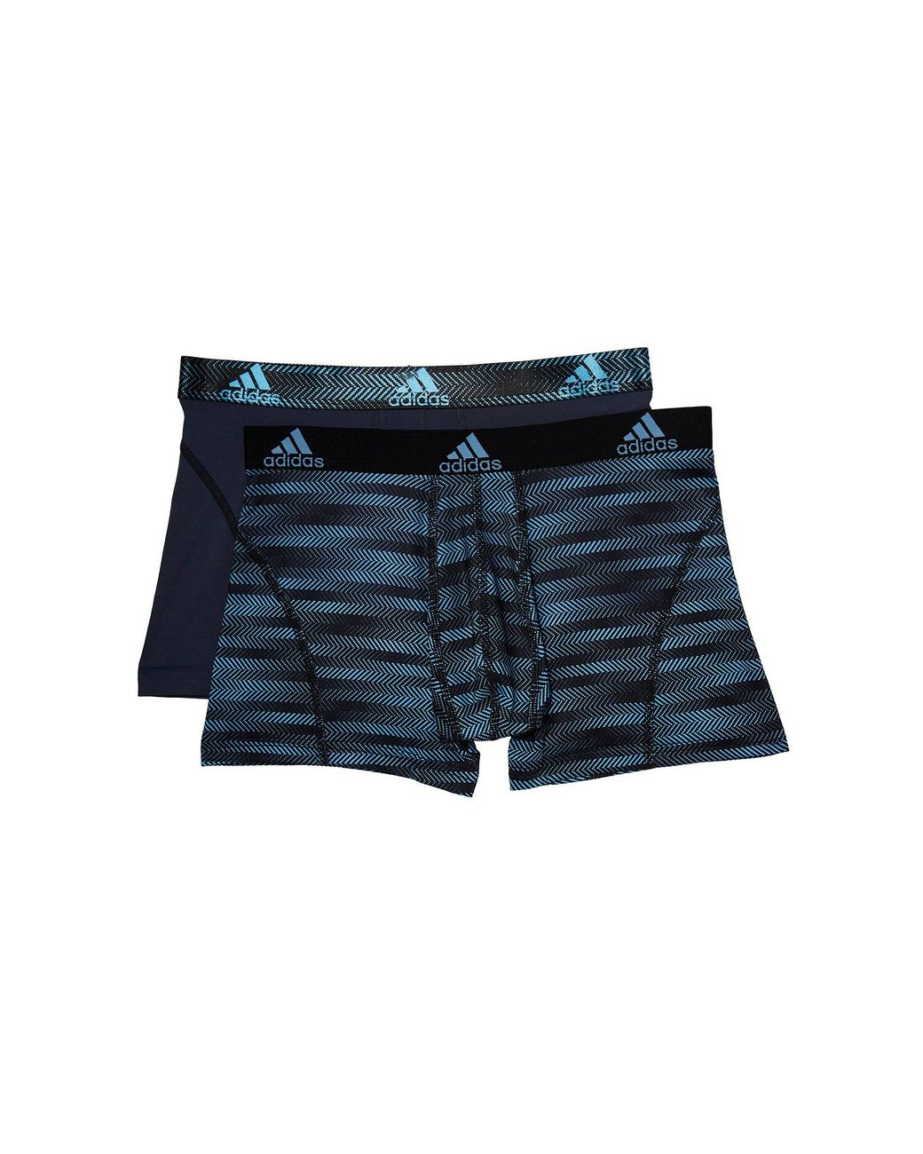 ffc6047ab363 Lyst - adidas Sport Performance Climalite Graphic 2-pack Trunk ...
