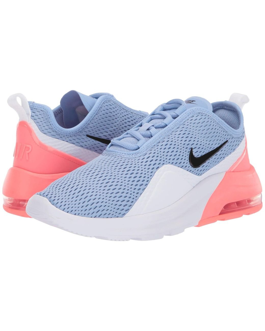 meet 2141a bf783 Nike Air Max Motion 2 (white laser Fuchsia pale Pink) Women s Running Shoes  - Lyst