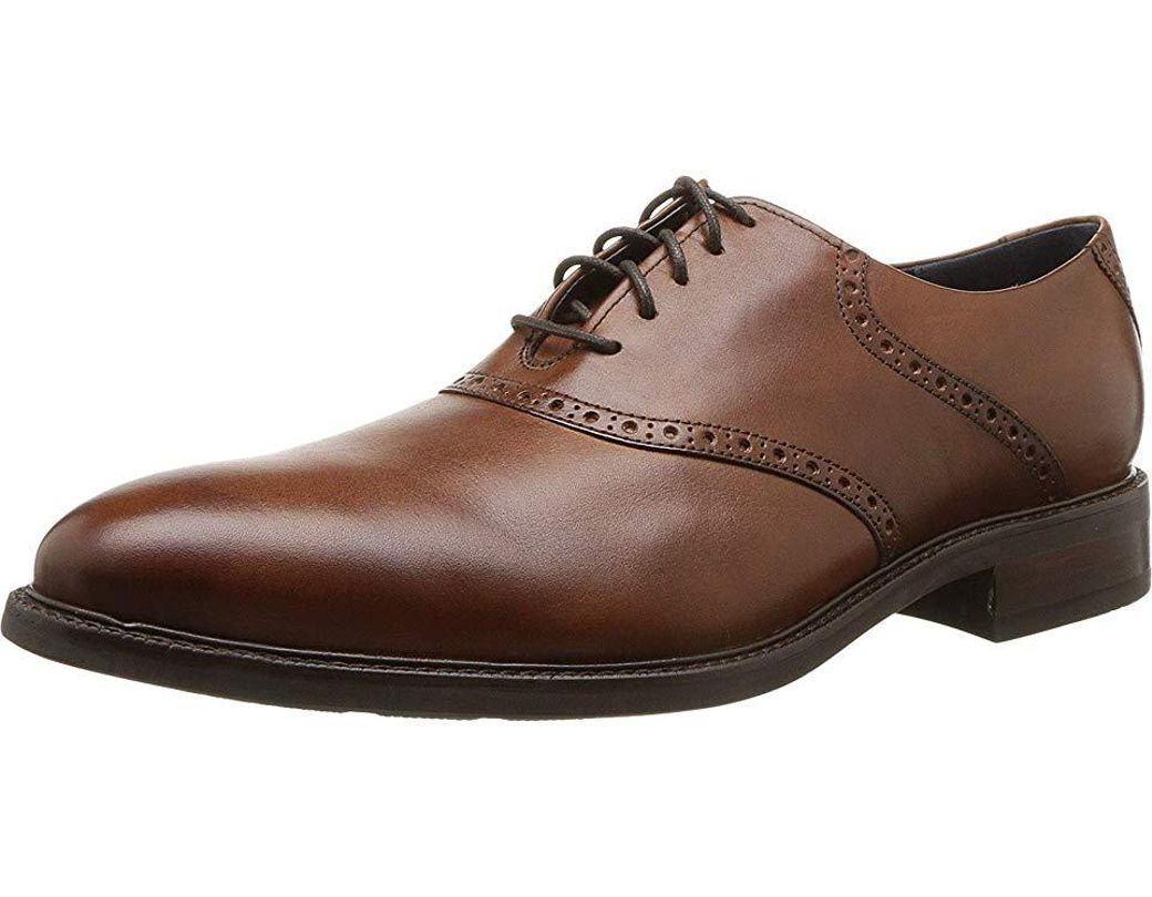 b2ab8c2dd13 Cole Haan Buckland Saddle Oxford (tan/dark Natural) Shoes in Brown for Men  - Save 1% - Lyst