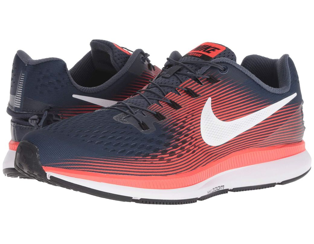3d3a4170b1e39 Lyst - Nike Air Zoom Pegasus 34 Flyease in Blue for Men - Save 36%