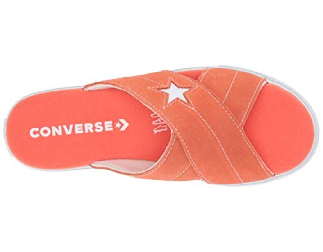 Slip Sandal Suede Star Lyst Converse One ONPvnym80w