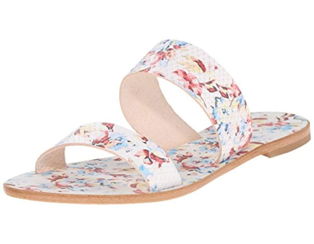 7eb075d56b0cf Lyst - Joie Sable Flat Sandal in White - Save 50%