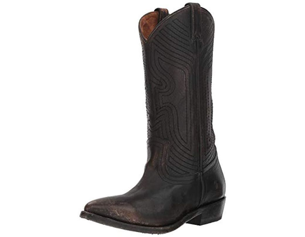 dc679ac2f53 Women's Black Billy Stitch Pull On Western Boot