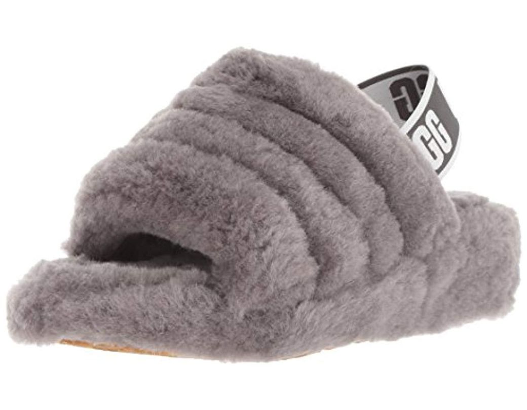 5fc924a05 UGG Fluff Yeah Slide Sandal - Save 1% - Lyst