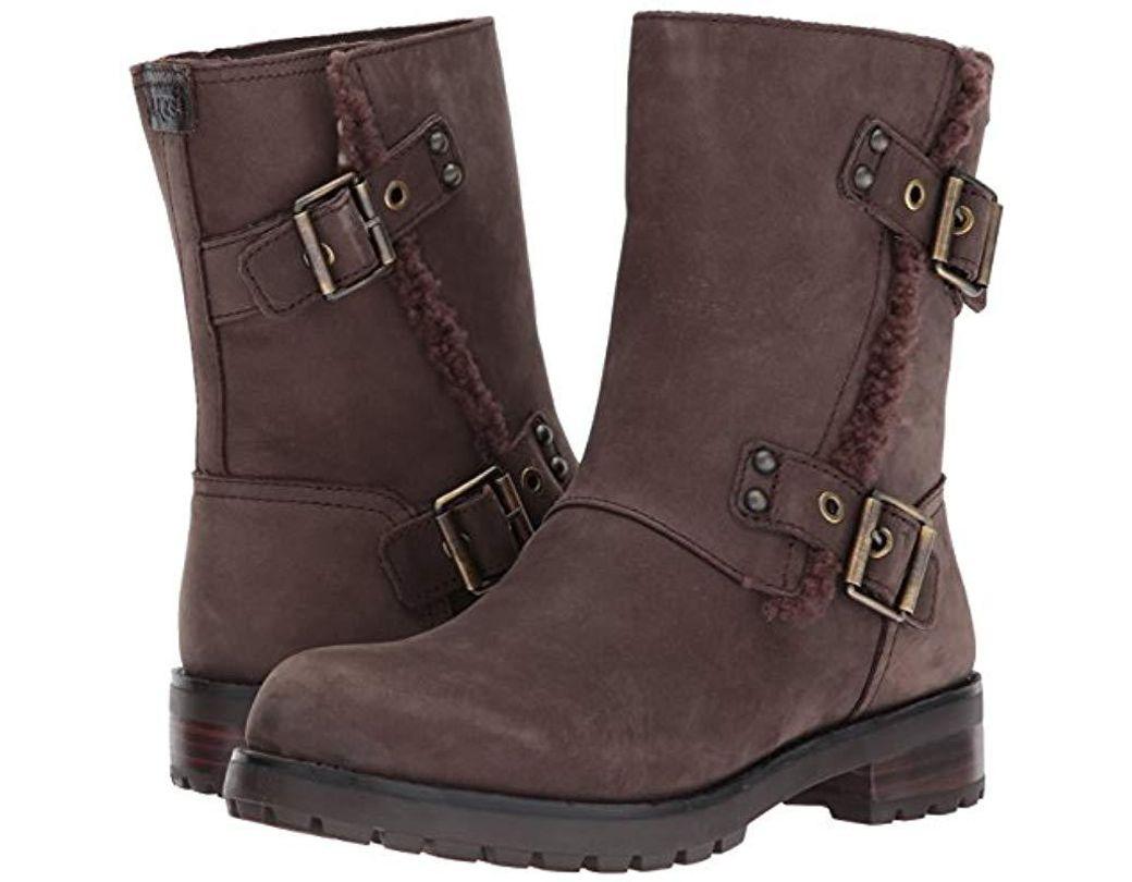 89ca49b9623 Women's Brown Niels Zippered Boot