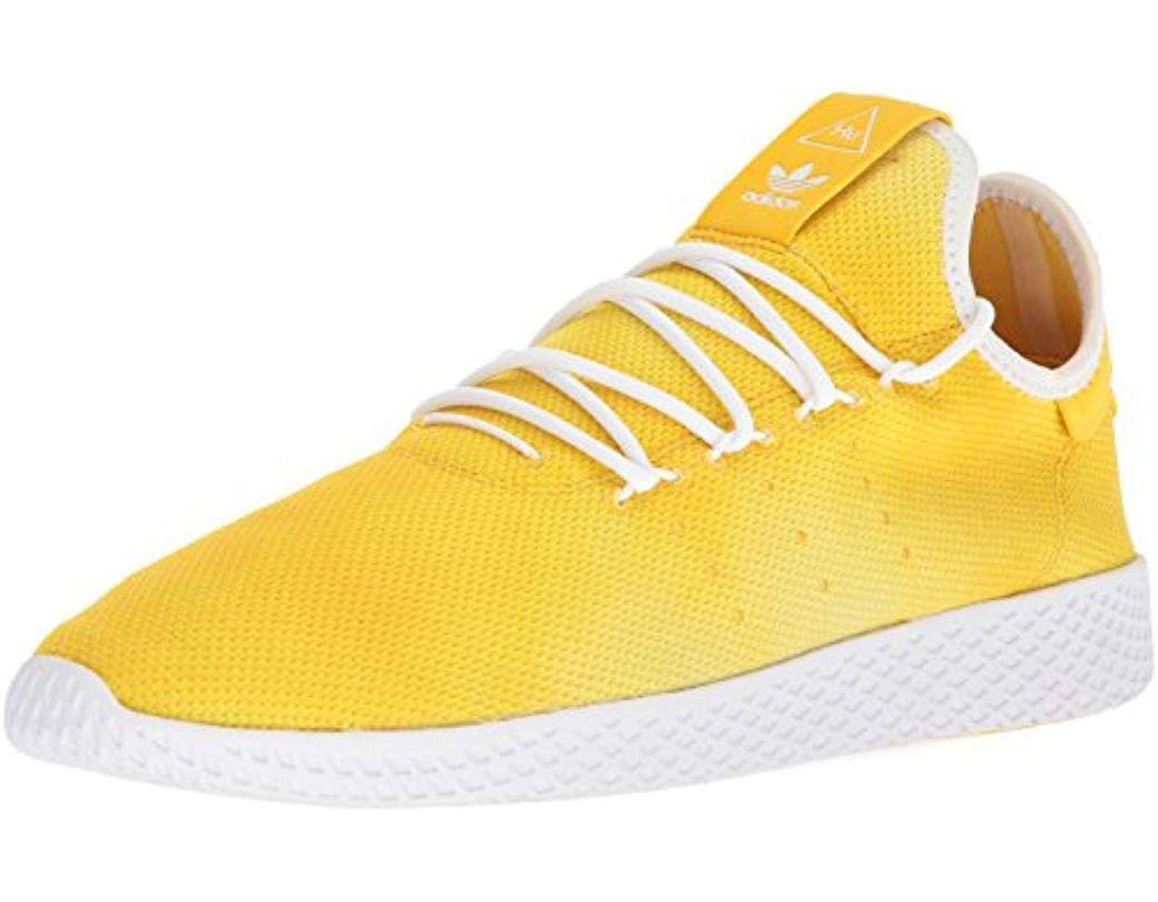 10040e98f8313 Lyst - adidas Originals Pw Holi Tennis Hu Running Shoe in White for ...