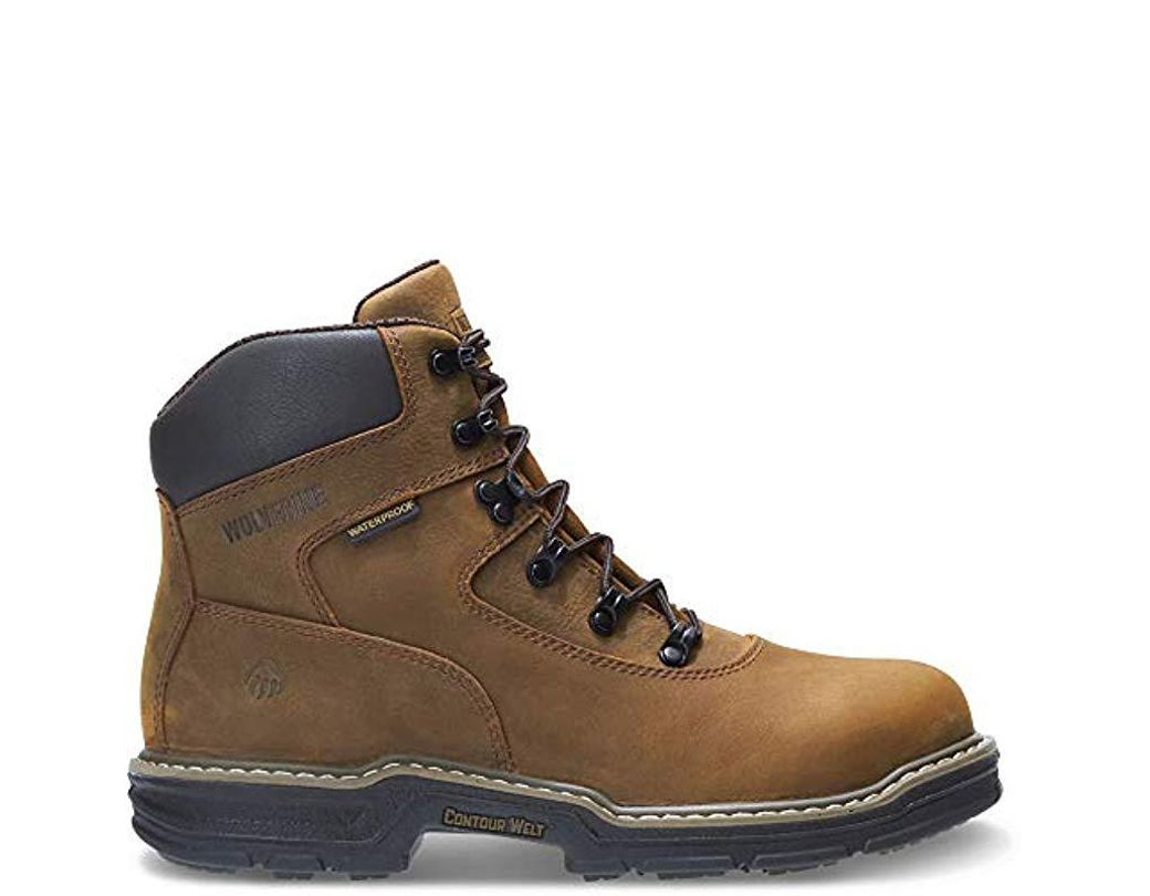 d1a7642eefe Men's Brown Marauder 6 Inch Contour Welt Steel Toe Eh Work Boot