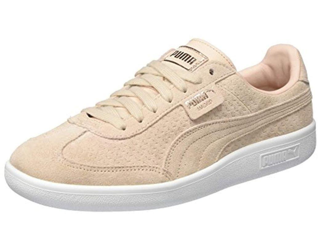 8a35322390bc Madrid Perf Suede Wn's, Sneakers Basses Femme PUMA en coloris Neutre - Lyst