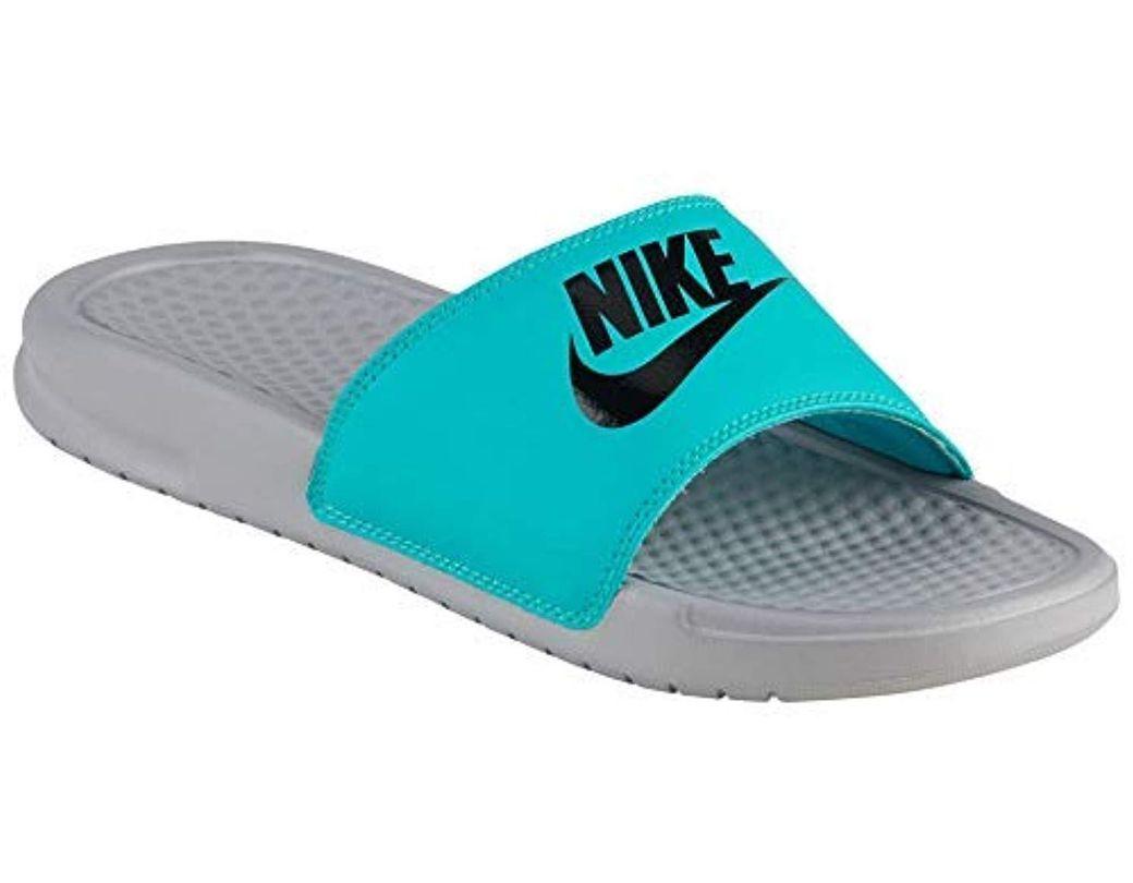6f40af652ee6 Lyst - Nike Benassi Jdi Sandal in Gray for Men