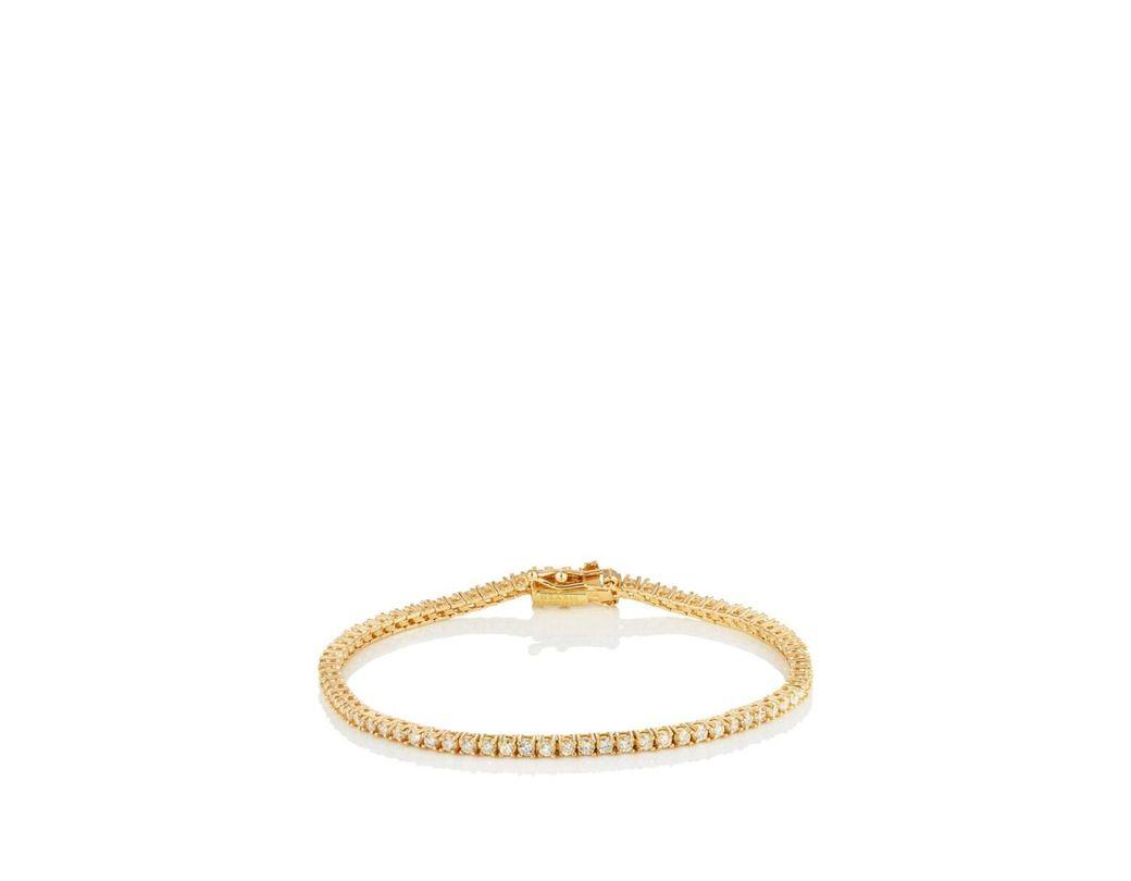 65796bb9d Lyst - Jennifer Meyer Diamond Tennis Bracelet in Metallic