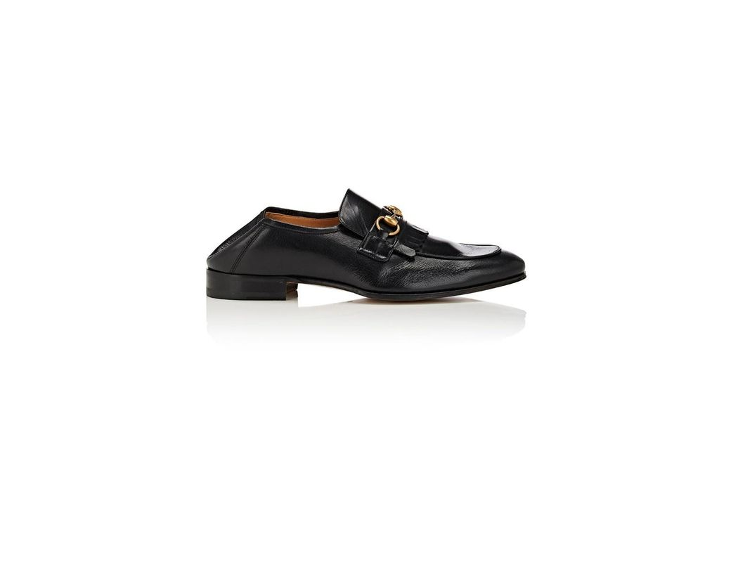 250f632310ad Lyst - Gucci Horse-bit Leather Loafers in Black for Men