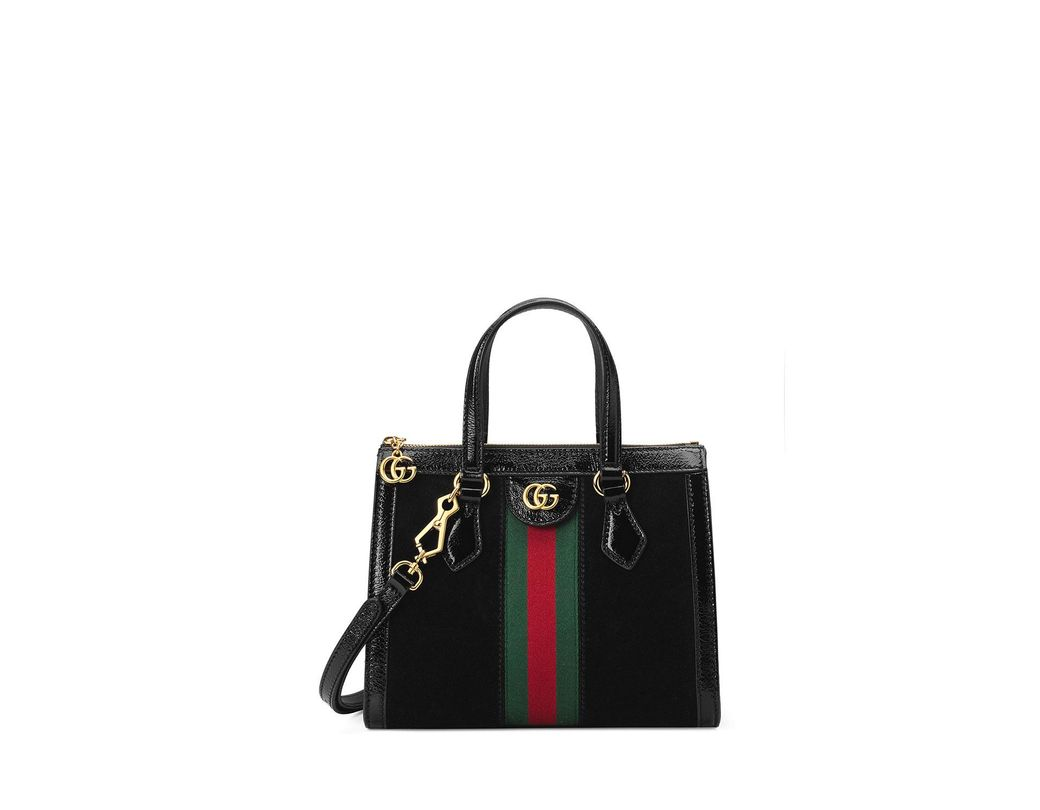 ab3947bcf924 Lyst - Gucci Ophidia Small Tote Bag in Black