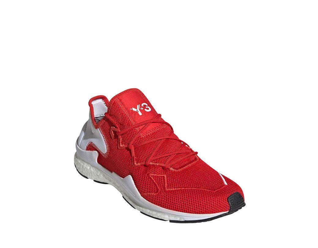 142bb939c9c07 Lyst - Y-3 Men s Adilette Knit Running Sneakers in Black for Men
