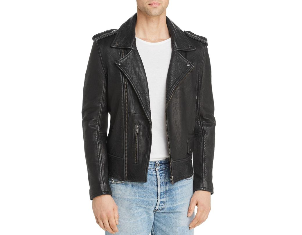 f0bf9f71c1 Lyst - Blank NYC Digital Detox Leather Moto Jacket in Black for Men