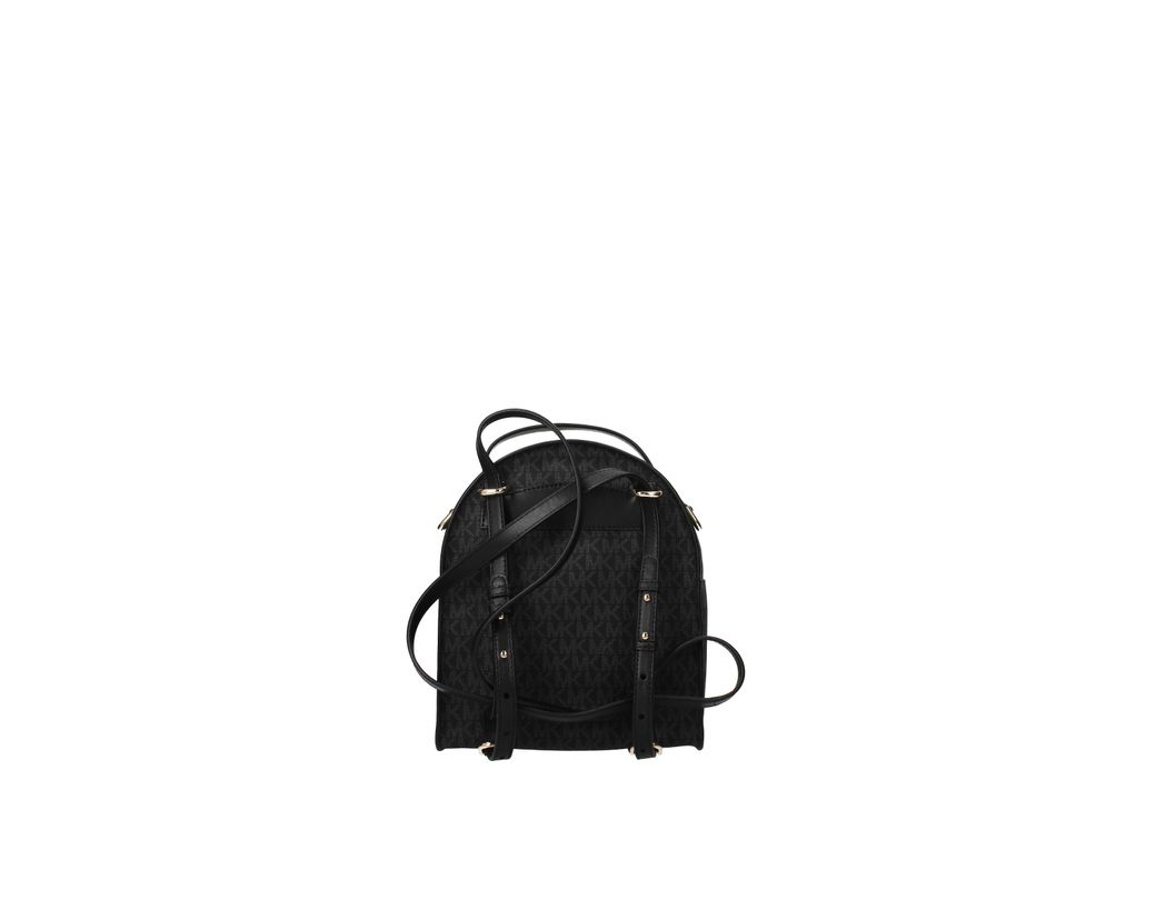3017e027a61f Michael Kors Backpacks And Bumbags Jessa Women Gray in Black - Lyst