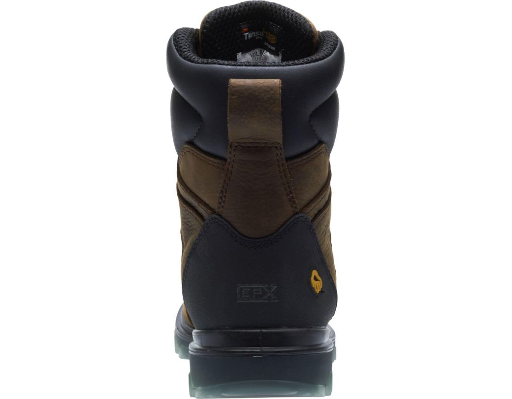 8d3434b5e3c Men's Brown I-90 Epx 8'' 400g Waterproof Work Boots