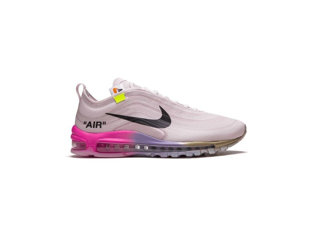 cd9a5e0f68badc Lyst - Nike Off-white X The 10  Air Max 97 Og Sneakers in Pink for Men