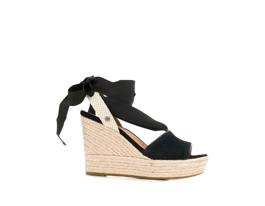 71d21bc520b Lyst - UGG Shiloh Sandals in Black