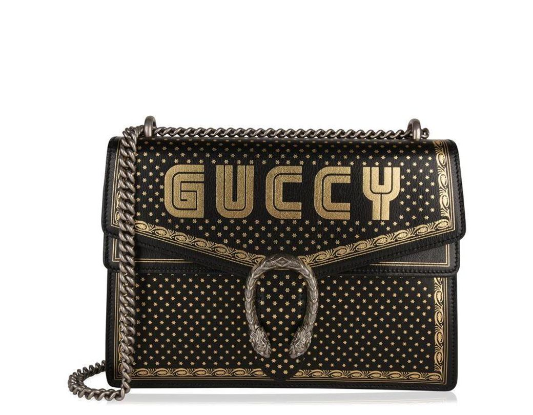 04f3d96579 Gucci Guccy Dionysus Bag in Black - Lyst