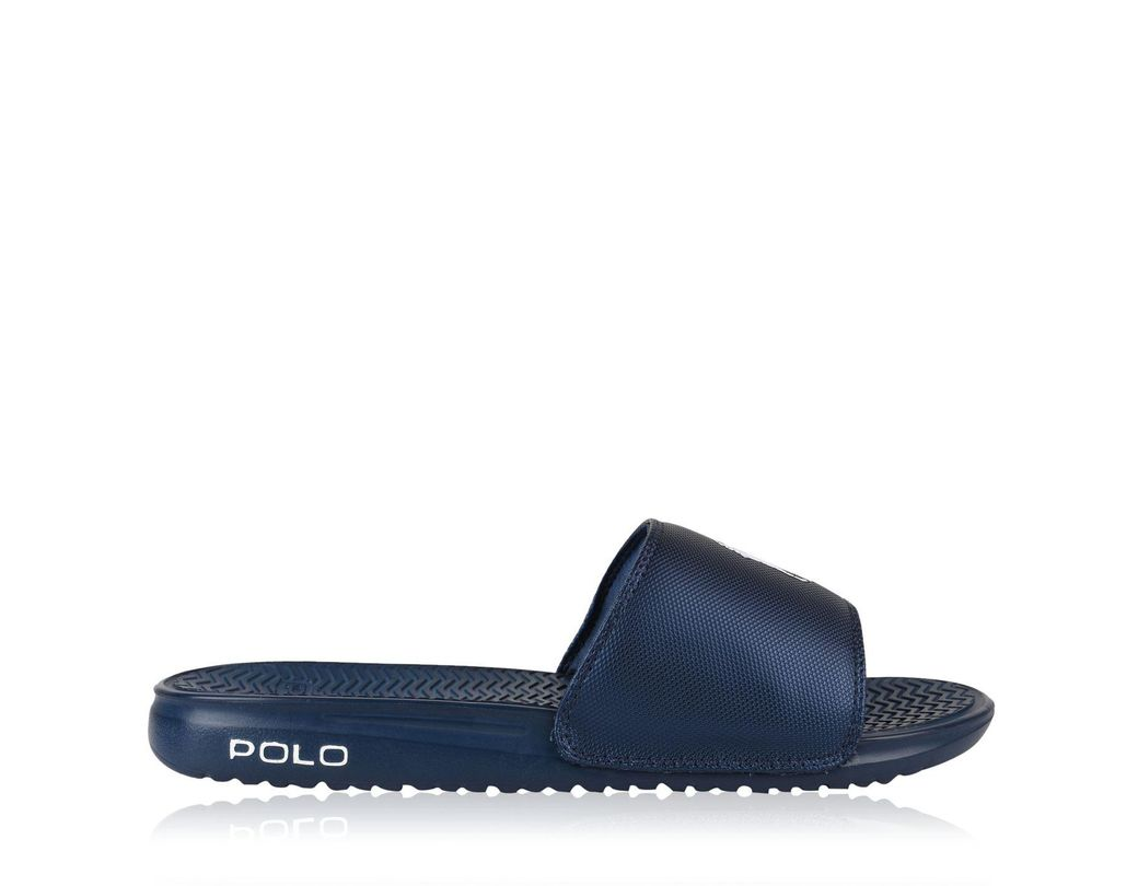 6f682e567e00 Polo Ralph Lauren Rodwell Sliders in Blue for Men - Save 43% - Lyst